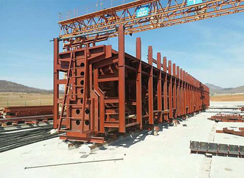 铁路T梁钢模板