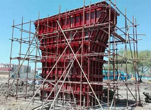 鞍山钢模板厂家-墩柱钢模板施工