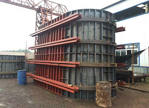 鞍山钢模板厂家-墩柱钢模板厂