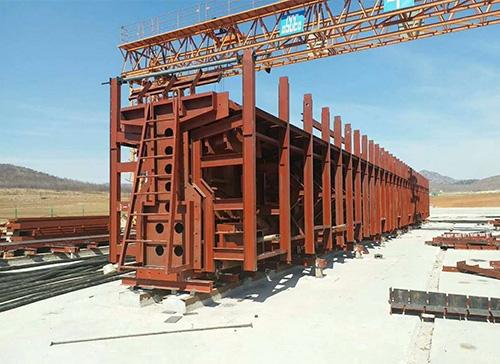 鞍山铁路T梁钢模板
