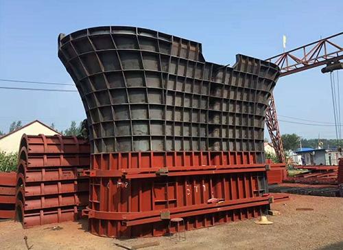 铁路墩柱钢模板